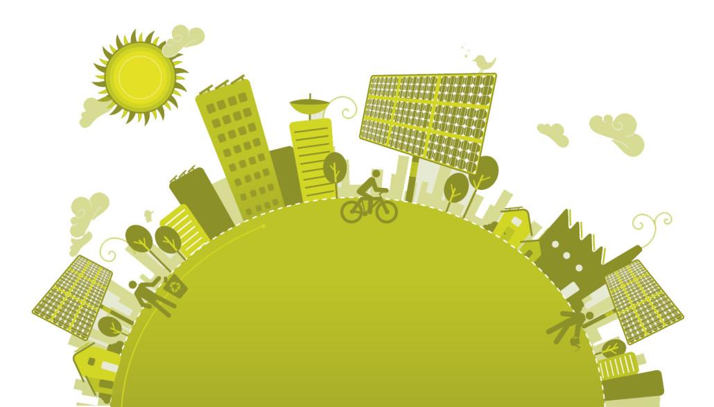 Ilustração Clima e energia